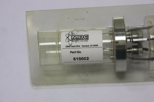 MDC High Vacuum Electrical/fluid Feedthrough Feed Through Thru 610002