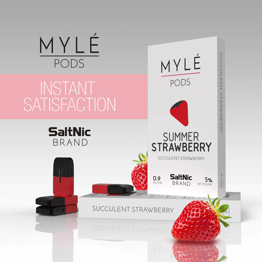 Summer Strawberry Myle Pods