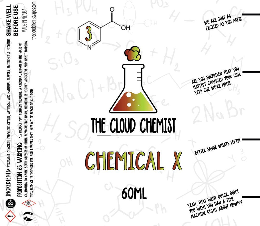 The Cloud Chemist Chemical X Vape