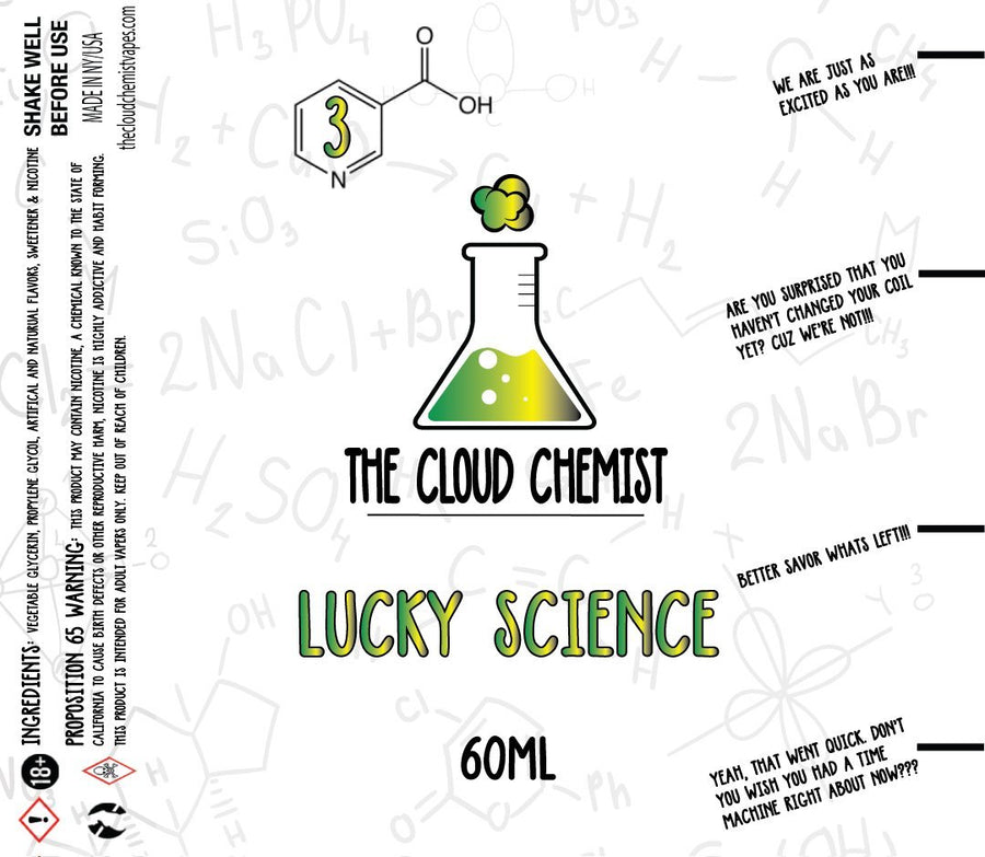 The Cloud Chemist Lucky Science eLiquid