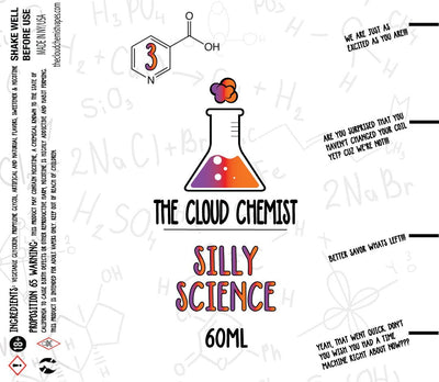 The Cloud Chemist Silly Science vape juice