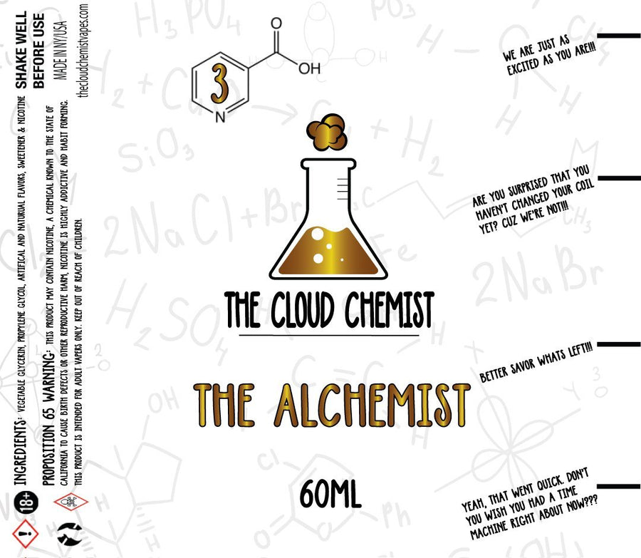 The Cloud Chemist The Alchemist eLiquid