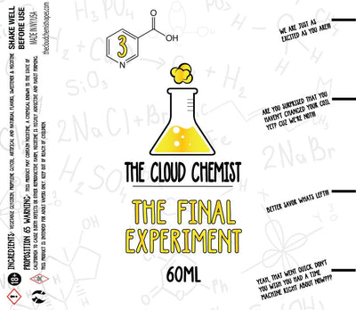 The Cloud Chemist The Final Experiment eLiquid