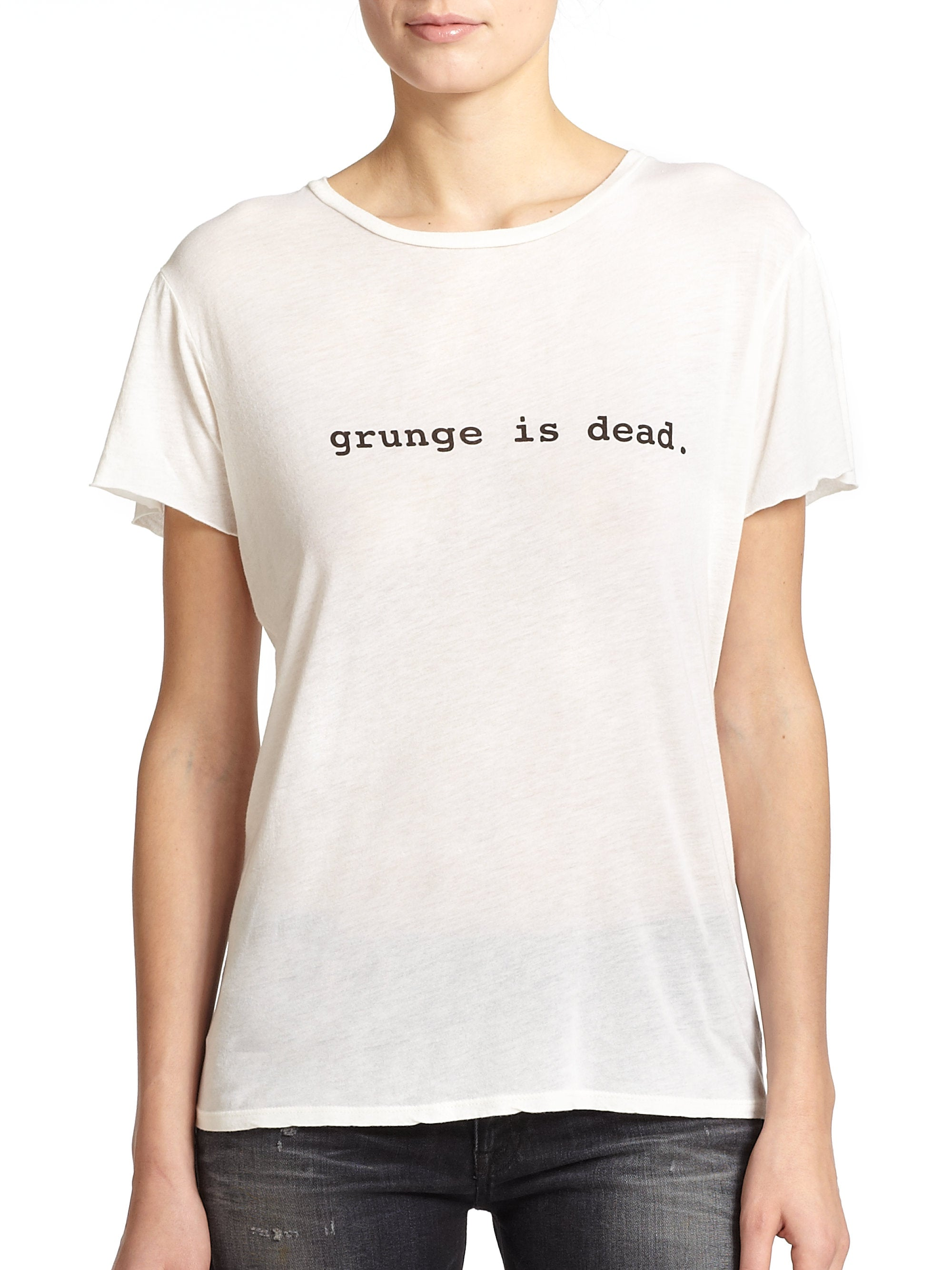 R13 Denim Grunge is Dead T-Shirts