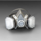 3M Half Facepiece Respirator - 5000 Series Disposable