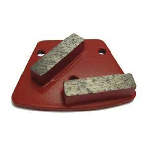 #120/140 GRIT PREM DOUBLE BAR WING (RED-MED BOND)