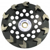 "7""X7/8"" 10 SEGMENT ARROW CUP WHEEL"