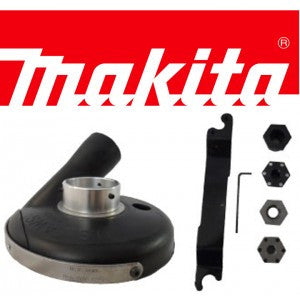 "7"" DELUXE MAKITA GRINDER-VAC KIT WITH CONVERTIBLE SHROUD"