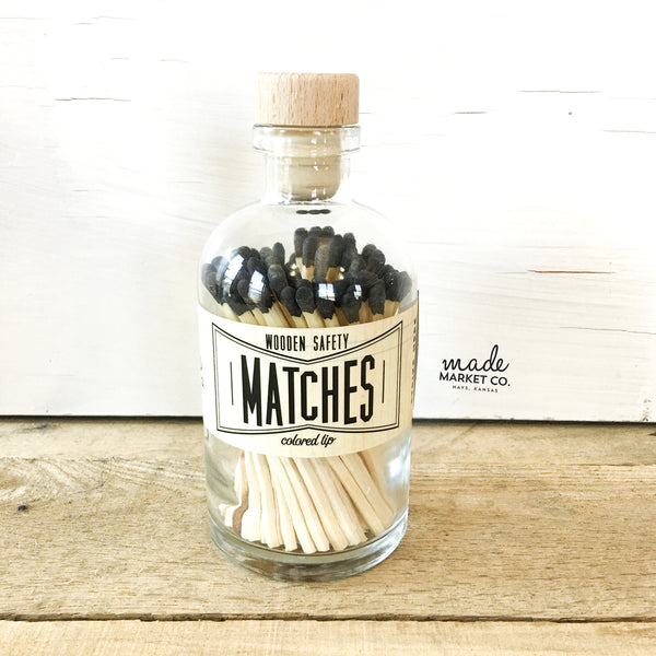 Vintage Matches (Black)