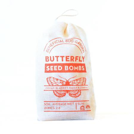 Butterfly Seed Bombs