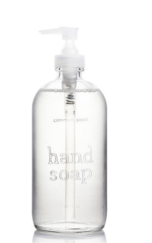 Common Good Hand Soap in Glass