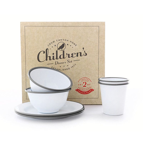 Enamel Children's Dinner Set