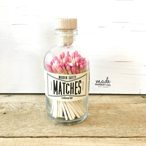 Vintage Matches (Pink)
