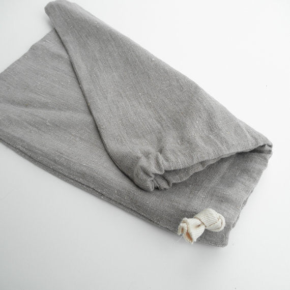 Linen Square Bread Bag