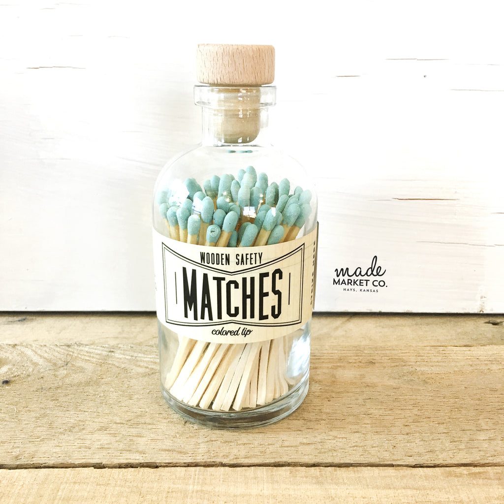 Vintage Matches (Teal)
