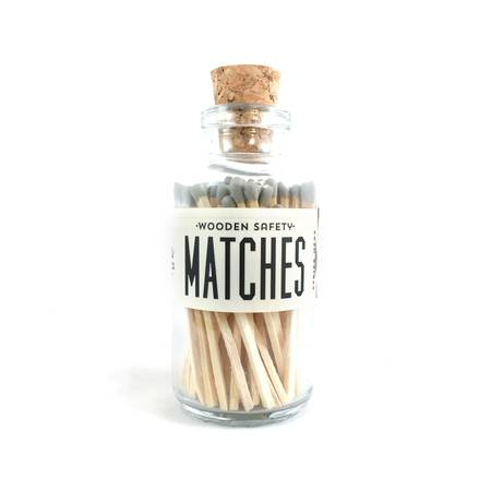 Vintage Gray Mini Matches