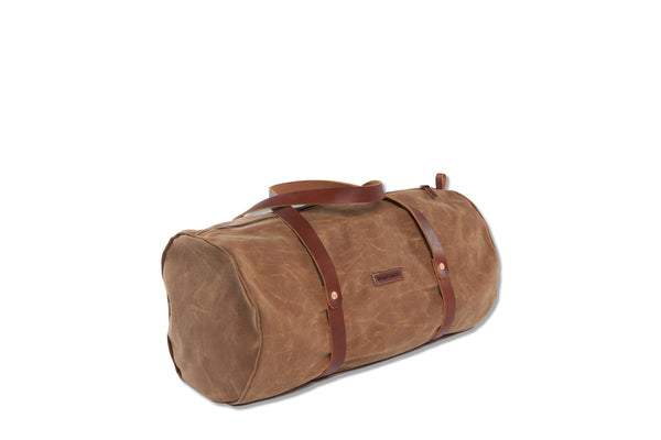 The Weekender Duffle Bag-Brush Brown