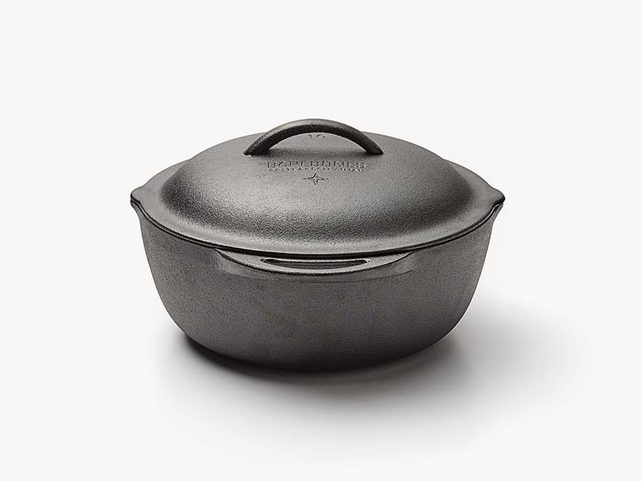 Cast Iron Crock - 4 quart