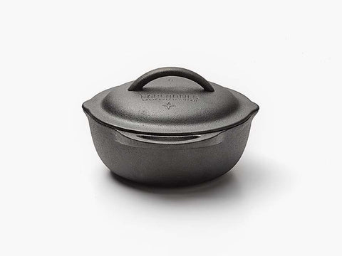 Cast Iron Crock - 2 quart