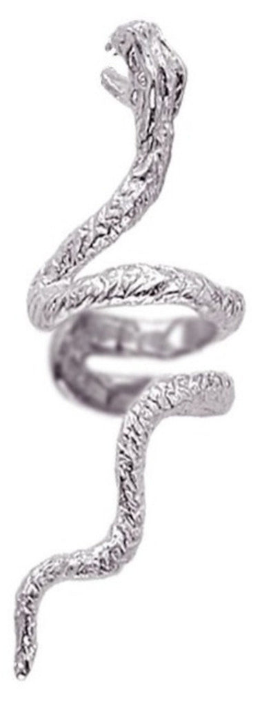 Snake Sterling Silver Ear Cuffs Earrings