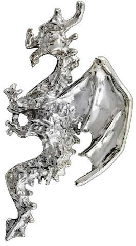 Small Dragon Sterling Silver Ear Cuffs Earrings