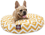 Chic Chevron Dog Bed
