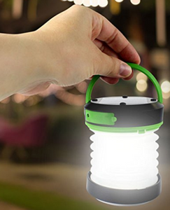 Collapsible Solar Light