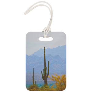 Desert Beauty Luggage Tags - Shadows