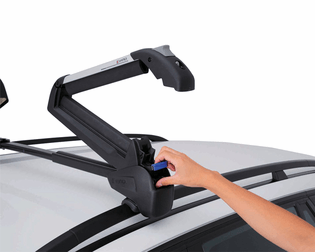 Inno Dual Angle RH728 Ski And Snowboard Carrier   Choose Roof Style