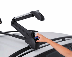 Inno Dual Angle RH728 Ski and Snowboard Carrier - Snowboard rack - Inno Rack