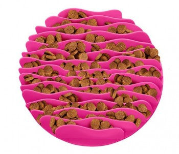 Outward Hound Fun Feeder Mat - Pink