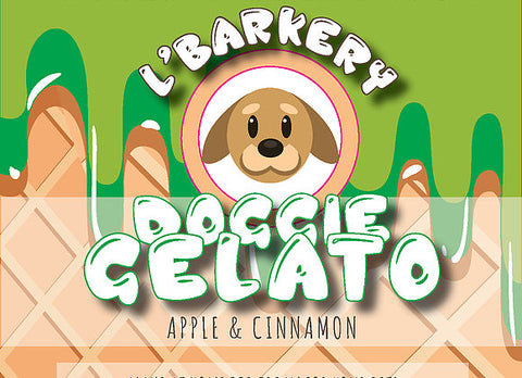 L'Barkery - Doggie Gelato Apple & Cinnamon