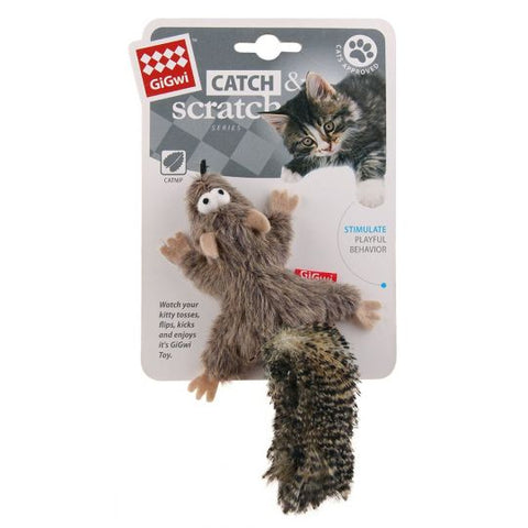 Gigwi Catch & Scratch Squirrel