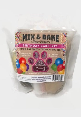 Mix & Bake - Birthday Cake Kit