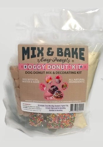 Mix & Bake - Doggy Donut Kit & Donut Cutter