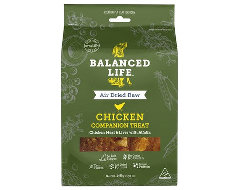 Balanced Life - Air Dried Raw Chicken Dog Treats
