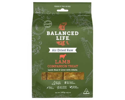 Balanced Life - Air Dried Raw Lamb Dog Treats