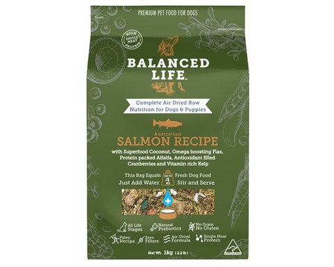 Balanced Life - Air Dried Raw Salmon Dog Treats