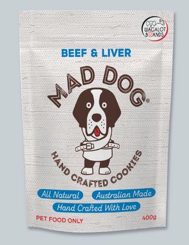 Mad Dog Liver & Beef Cookies
