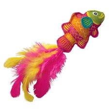 Kong Denim Tropics Fish Toy