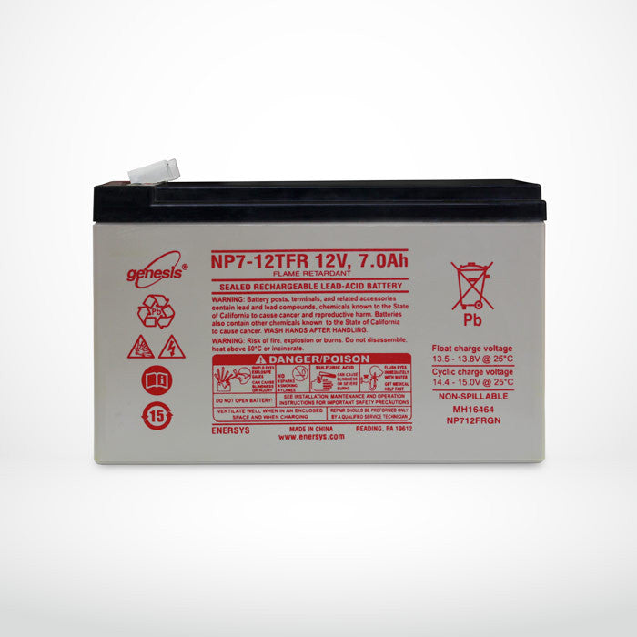 NP7-12TFR Backup Battery Replacement for NBN™ Power Supply Unit