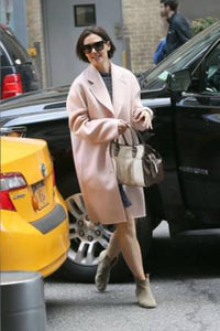 Check out the below photos of Katie Holmes wearing The Heroine while out in New York City this weekend – this is the SEVENTH pair she has been seen wearing!!