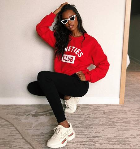 Check out the below image of Jasmine Tookes rocking The Bermuda