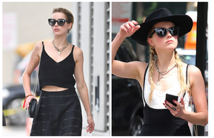 Check out the below images of Amber Heard rocking The Hepburn!