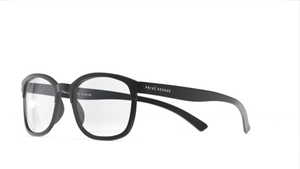 The Aristotle - Jet Black/Clear - URBANE GENTS PH