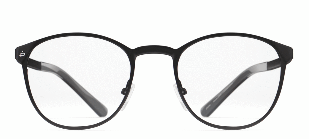 The Buber - Jet Black/Clear - URBANE GENTS PH