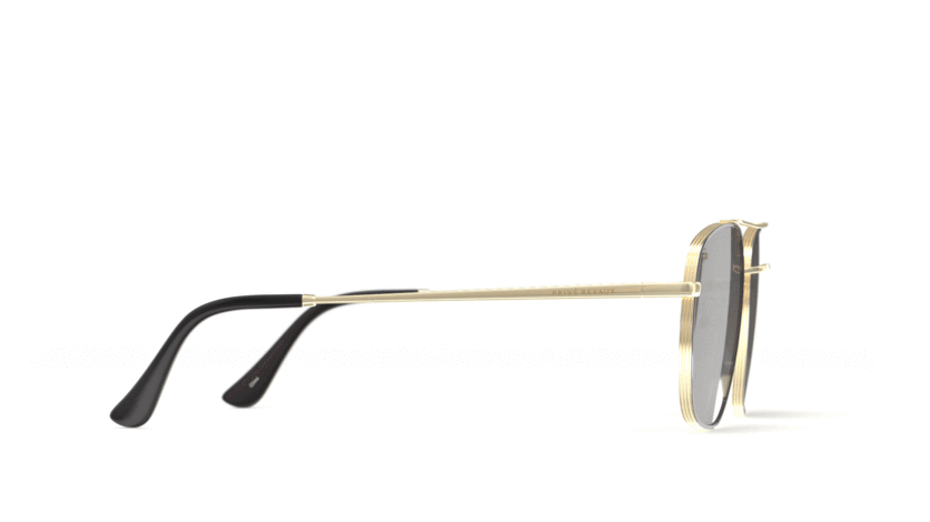 The Floridian -Jet Black Gold/White Mirror - URBANE GENTS PH