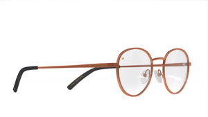 The Machiavelli - Chestnut Brown/Clear - URBANE GENTS PH