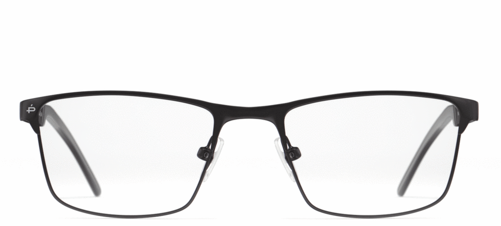 The Spinoza - Jet Black/Clear - URBANE GENTS PH