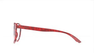 The Thoreau - Crimson Red/Clear - URBANE GENTS PH